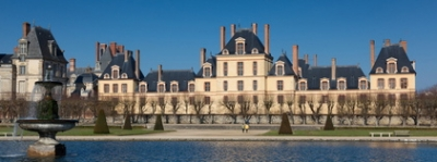 Courtyards and Gardens of Fontainebleau